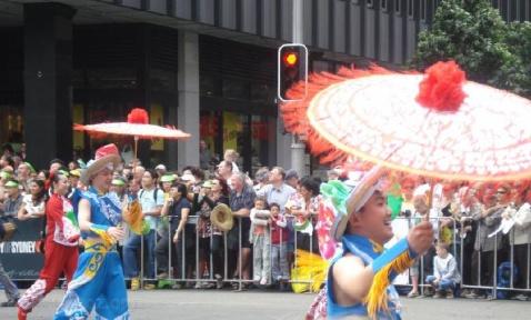 原创澳大利亚的中国春节 - 天上蝎 - 蝎眼看世界
