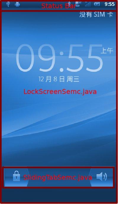 Android锁屏与解屏相关代码分析