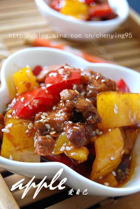 嗜肉族夏天吃肉20招:芝香甜椒煎肉条 - 可可西里 - 可可西里