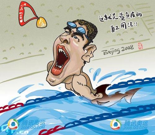 北京奥运游泳冠军美国选手菲尔普斯 - lx3com - lx3com太上老君的博客