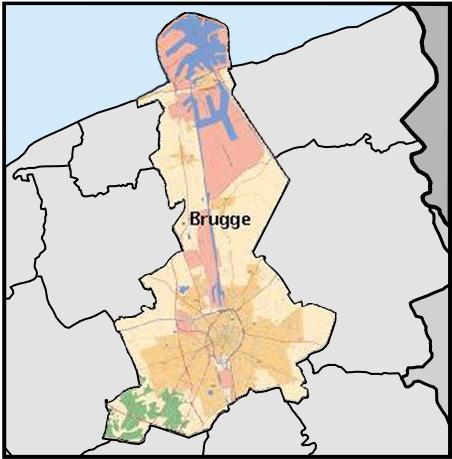 布鲁日(荷兰语:brugge)位于比利时西北部