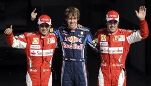 巴林排位赛 维泰尔第杆位 马萨第二 阿隆索第三