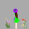 最全最靓丽女子风景人物透明flash动画效果