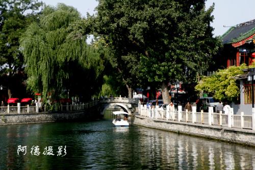 后海银锭桥这里曾发生过大事 - 阿德 - 图说北京(阿德摄影)BLOG