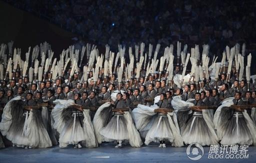 08奥运开幕式5大亮点 雪中蓝狐 心灵 之花园