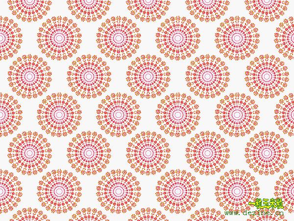 制作绚丽多彩的精美图案 - yiliyumili - 一粒玉米粒