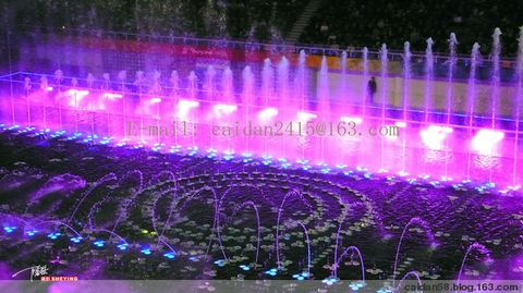 《梦幻水立方》大型声光水景交响音乐会 - caidan58 - 陆岩的博客