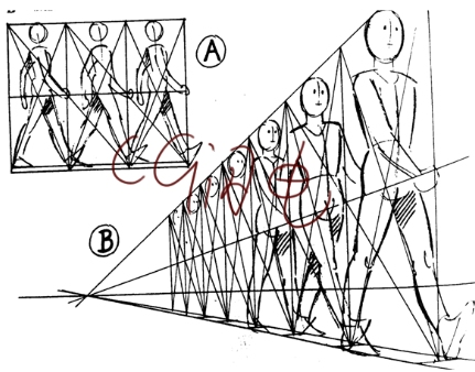 动画运动规律 人走路,人物走路运动规律,运动规律人物走路高清图片