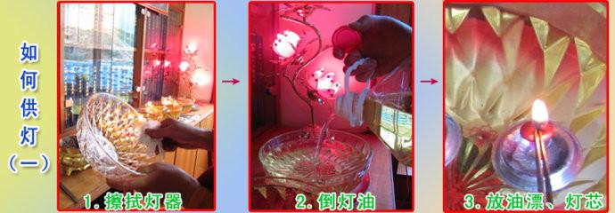 [转载]供灯的功德、如何供灯以及供灯发愿文