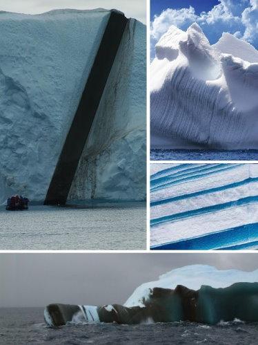 南极奇异冰山  胜似碧玉玛瑙(组图) - zhiai113 - 看天下