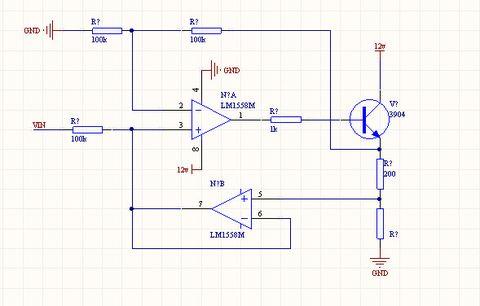 电压转电流电路