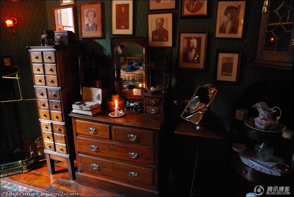 探访伦敦大侦探福尔摩斯精致小巧的蜗居  - 冬日暖阳 - 我的博客