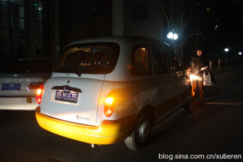 来北京坐伦敦的出租车(图) - 徐铁人 - 徐铁人的博客