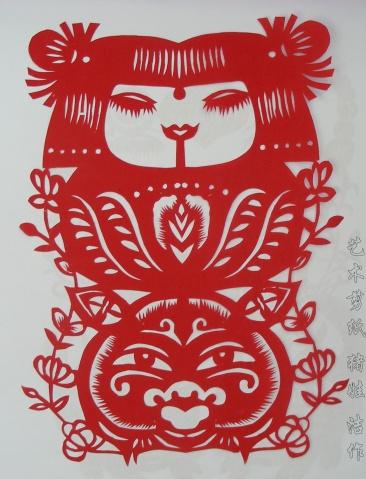 剪纸艺术 - 洁儿 - jiechu222的博客