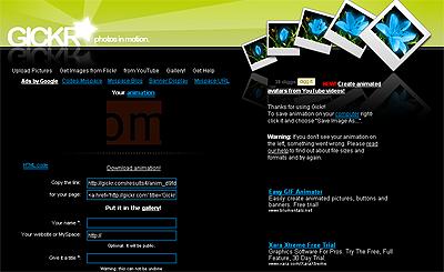 Gickr:在线制作GIF图片 - 令冲冲 - 飞越梦想