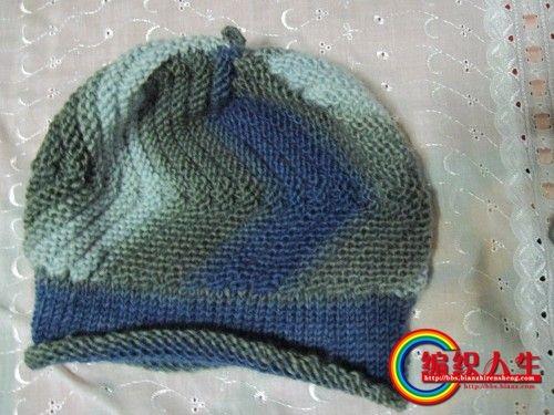 教你织三款韩版帽  - 一沙一世界 - 一沙一世界的博客