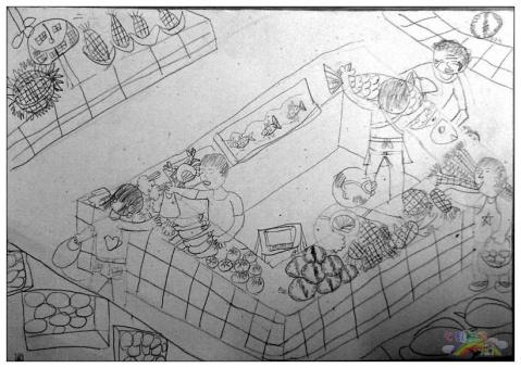 菜场 - 七彩城堡少儿美术工作室 - 七彩城堡