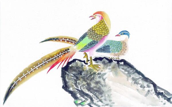 中国吉祥鸟类大全 - 海阔山遥 - .