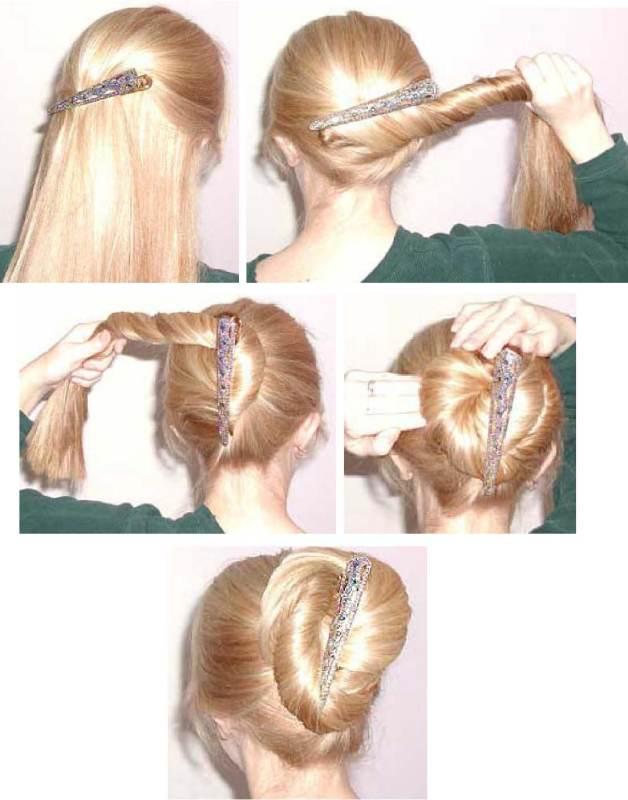 女士扎头发方式(七)! - 知己难求 - jlsplslzq 的博客