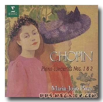 肖邦第一钢琴协奏曲---皮尔斯ERATO版-古典四大钢琴协奏曲名盘图片