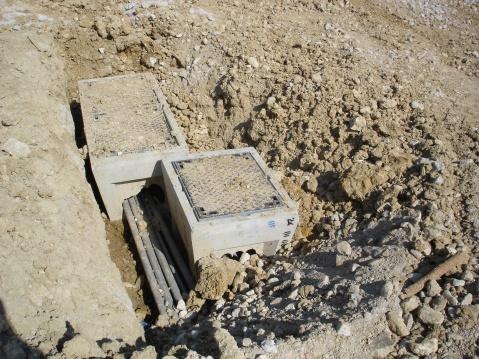 法国民居别墅的建造 (四) 入区和入户管线的铺设 - pfspfs666.popo - 反三的博客
