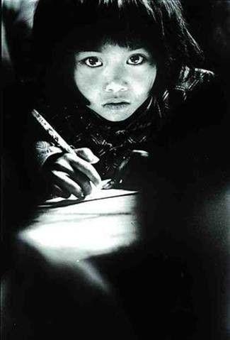 孩子等影象浓缩了贫困山区儿童学习的种种特定信息