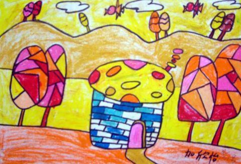 2007点时视觉艺术学校暑假学生优秀儿童画选 - 点时画室 - 襄樊市点时视觉艺术培训学校