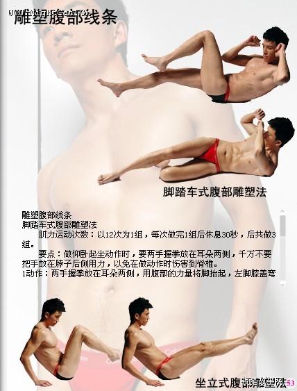 【转载】 雕塑腹肌 - 玉树临风 - 玉树临风的博客