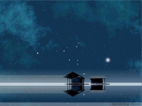 在这静静的夜回(原) - 风中白帆 - 风中白帆