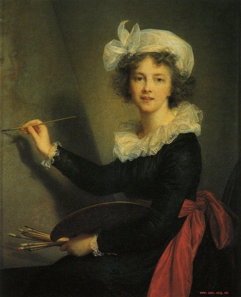 维瑞.勒布伦---介绍一位美女画家 - 简馨 - 简馨