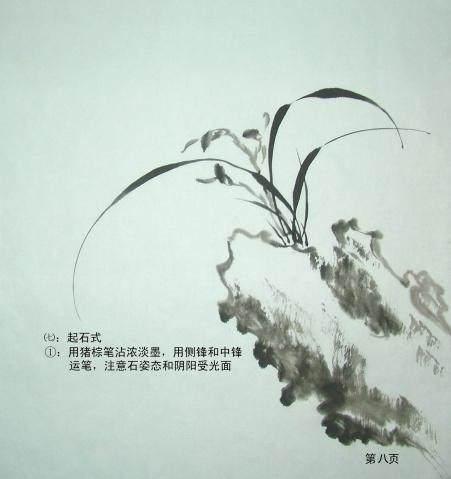 """【转载】怎样画兰(原创) - 毅江书画学校 - 黑龙江有个""""牡丹""""江"""