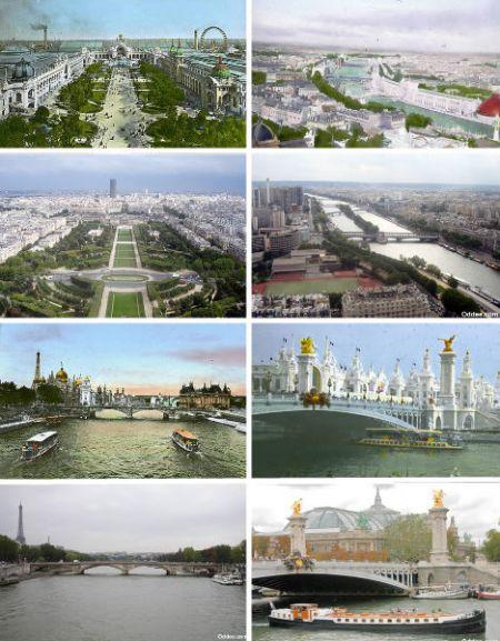 法国巴黎——1900年、1960年和2006年