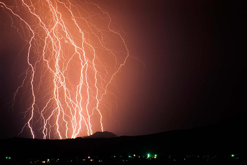 引用 可怕的闪电 - 清风细雨润江南 - 清风细雨润江南