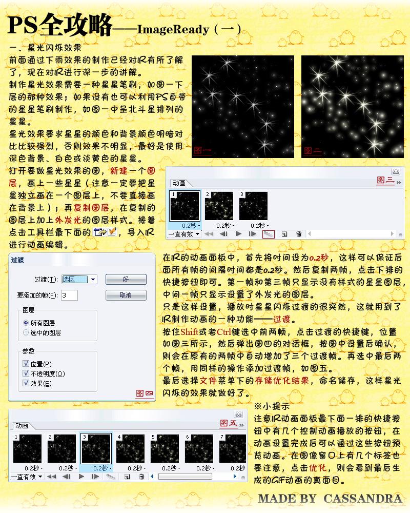 【PS教程】ps全攻略-imageready - f12lian - 缘份的天空