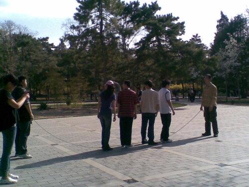 [随笔]享受春天之大家一起来锻炼 - 北京之家 - 北京红十字造干志愿者之家