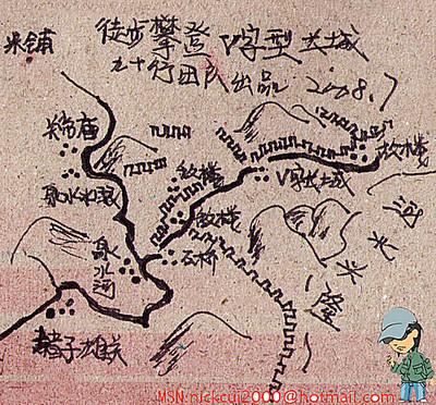 奉送几幅手绘北京周边主题游攻略图