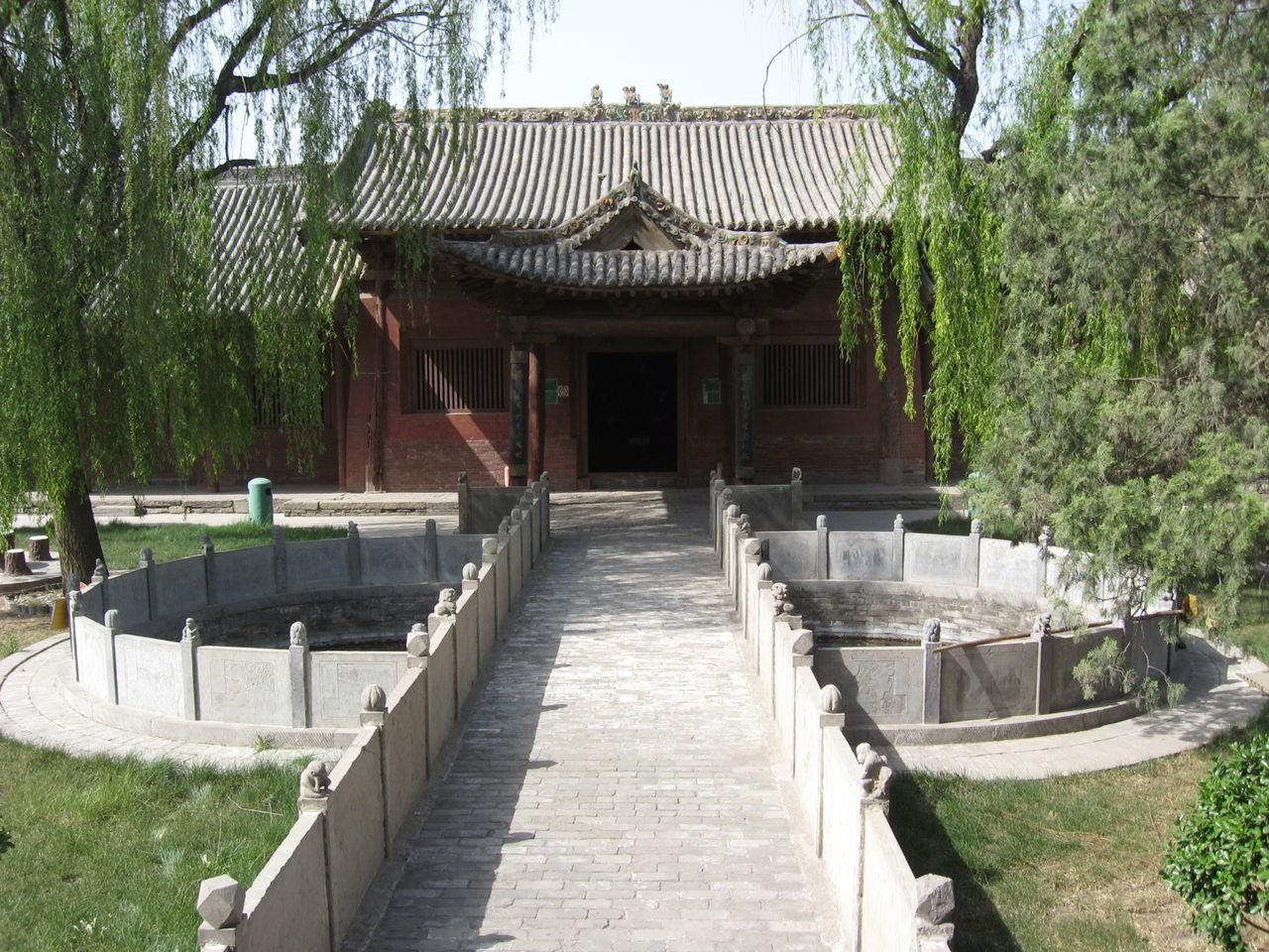稷山县稷王庙与稷王文化 - 杨毅 - 尚义轩杨毅剪纸
