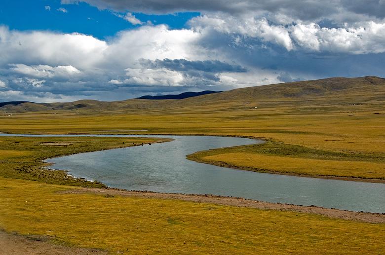 【原创】从青海到西藏(火车窗外风景) - 歪树 - 歪树