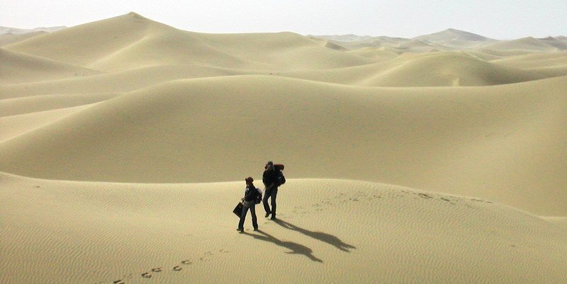 【转载】失落的库布其---2007年5月1日徒步穿沙记 - gaffer - gaffer