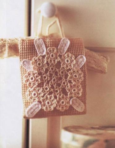 钩针编织包高清图片