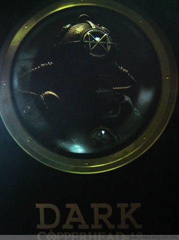 HOT TOYS 铁人兄弟——潜水员(DARK) - 玻璃瓶的鱼儿 - 玩具大掌櫃