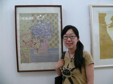 新年我收到两幅丝网版画作品 - 何鸣芳 - 我的博客