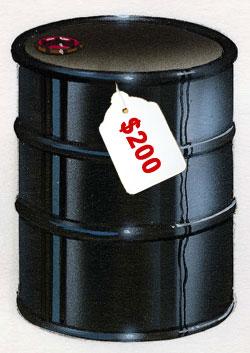 200美元一桶的时代近在咫尺 - zhangdaxian199 - 大仙的小屋