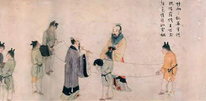 明代尤求《飲中八仙圖卷》畫與詩完美地融和(之一)