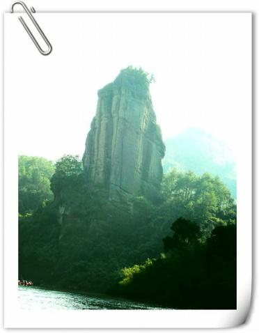 福建:武夷山 - 晚亭 - 灯火隔岸