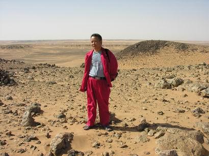 Guelbe Richatt 巨型陨石坑 - 淡淡云天 - 淡淡云天