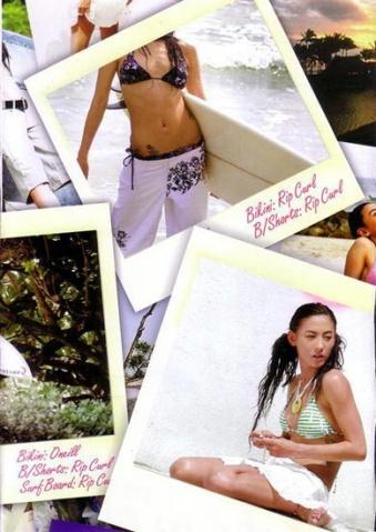 张柏芝玉女时期的泳装照片(图文) - 0.2的生命 - 零点二:平民八卦论