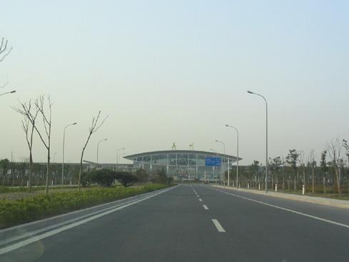 """现代化的泰州""""飞机场""""——其实是火车站"""