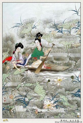 引用  欣赏郑增科的工笔古典人物画 - po321po - po321po的博客