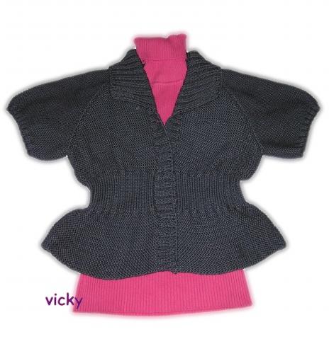 【引用】仿小短装(上图) - 快乐织织 - 快乐织织的博客
